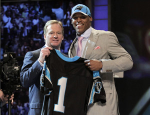 Cam Newton - 1st Overall Pick